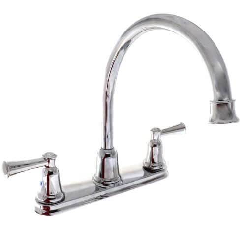Cleveland Faucet Capstone Two-Handle High Arc Kitchen Faucet (Chrome) Product Image