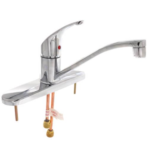 Ca47511 Moen Ca47511 Cleveland Faucet Flagstone Single Handle Kitchen Faucet Chrome