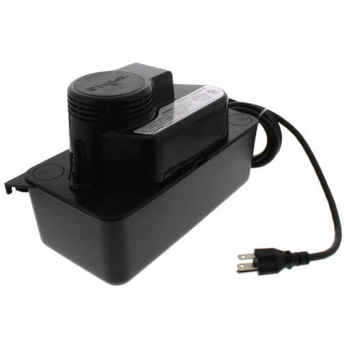 Medium Condensate Pump w/o Safety Switch, 17 Ft Shutoff (1/50 HP, 115V) Product Image