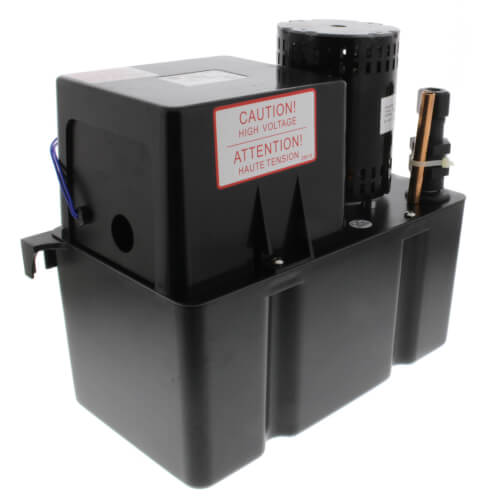 Large Condensate Pump, 25 Ft Shutoff (1/20 HP, 115V) Product Image