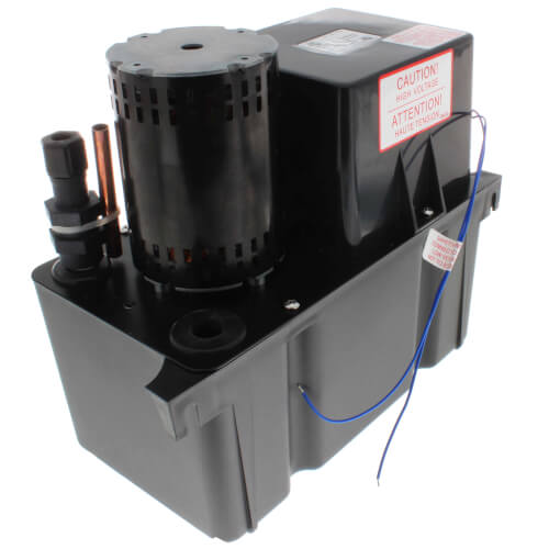 Large High Temp Condensate Pump, 20 Ft Shutoff (1/30 HP, 230V) Product Image