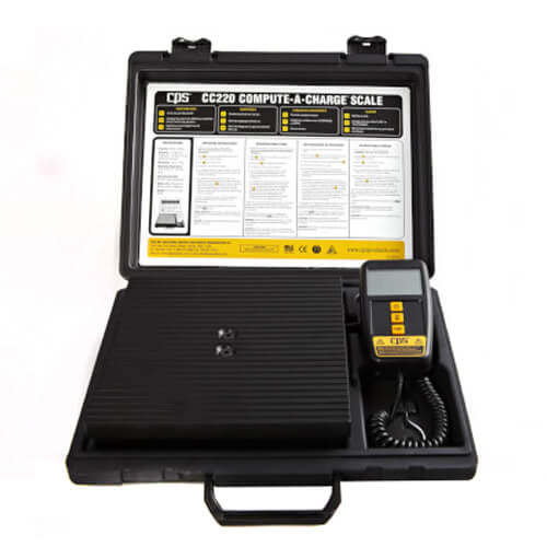 Compute-A-Charge Enhanced Wireless Refrigerant Charging Scale Product Image