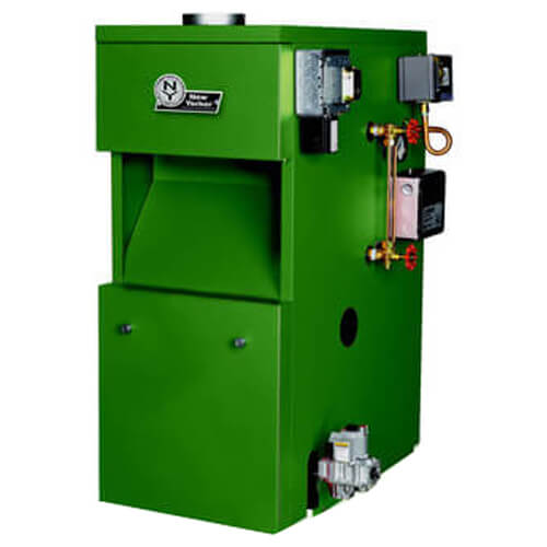 CGS50C CGS-C Series 85,000 BTU Output Electronic Ignition Cast Iron Gas-Fired Steam Boiler w/ LWCO (NG) Product Image