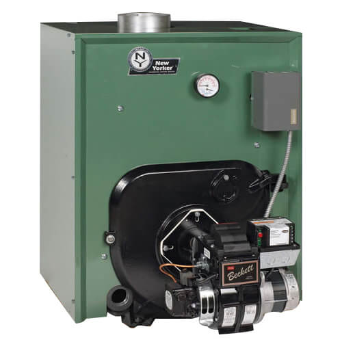 CL4-210 156,000 BTU Output, Cast Iron Water Boiler w/ Tankless Coil & HydroStat Control (Packaged) Product Image