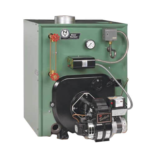 CL5-245 155,000 BTU Output, Cast Iron Steam Boiler w/ Tankless Coil (Packaged) Product Image