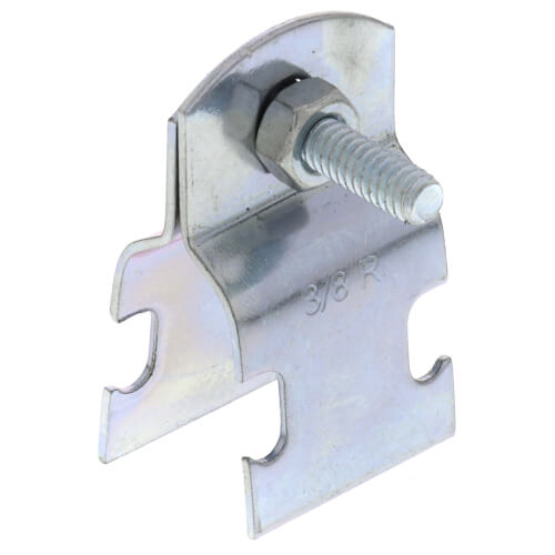 "3/8"" Electro-Galvanized Multi-Strut Pipe Clamp Product Image"