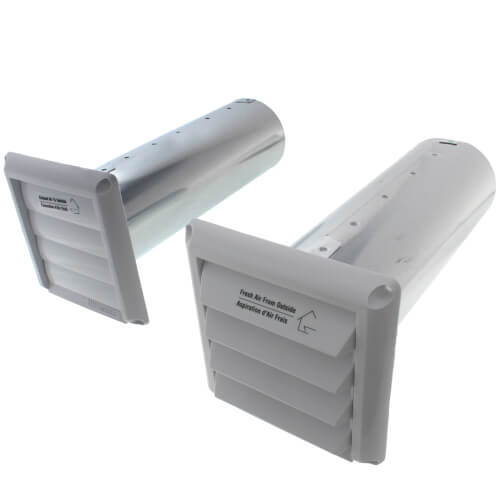 """COM4P Plastic Supply & Exhaust Hood Combination (Pair), 4"""" Duct Product Image"""