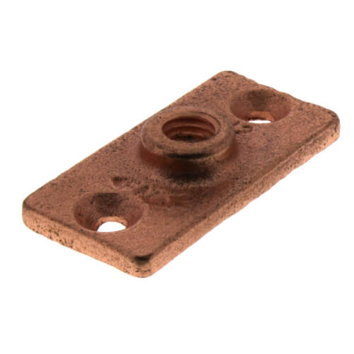 "1/2"" Copper Plated Ceiling Plate Product Image"
