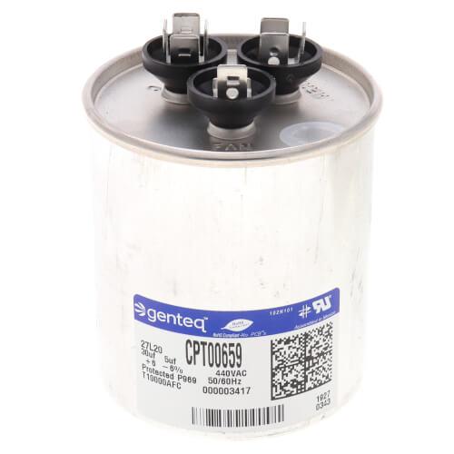 Capacitor - 30/5 MFD, 440V w/o Resistor