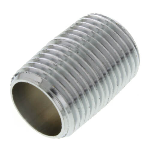 "1/2"" x Close Chrome Brass Nipple (Lead Free) Product Image"