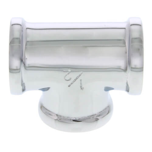 "1/2"" Chrome Brass Tee (Lead Free) Product Image"