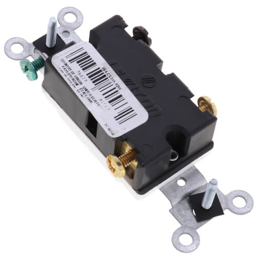 3-Way Toggle Light Switch, Commercial Grade, 15A - White (120/277V) Product Image