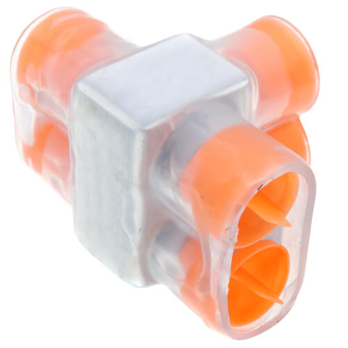 Multi-Tap Encapsulated Cable Block, 2-Way Config., 2 Outlets, 350 AWG-10 Str Product Image