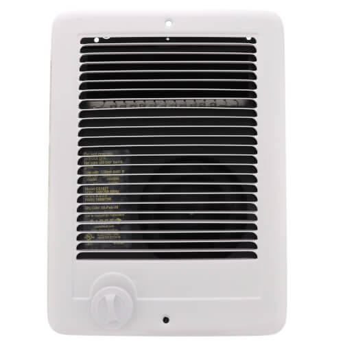 Com-Pak Plus White Wall Fan Heater, 1000/750 Watts (240V/208V) Product Image