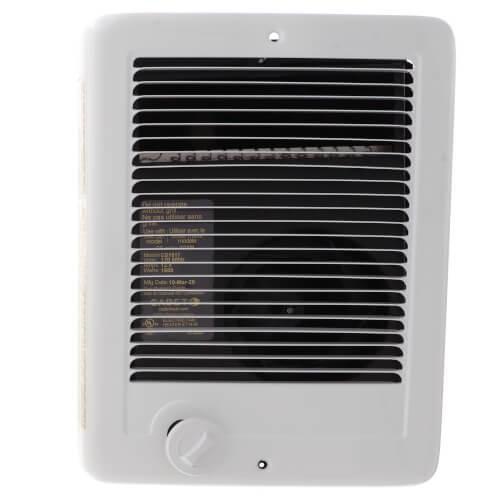 Com-Pak Plus White Wall Fan Heater, 1500 Watt (120V) Product Image
