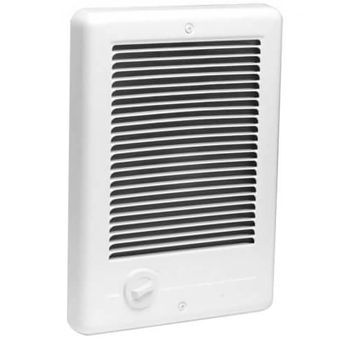 Com-Pak Plus White Wall Fan Heater, 1500/1125 Watt (240/208V) Product Image