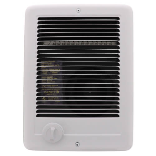 Com-Pak Plus White Wall Fan Heater, 2000/1500 Watt (240/208V) Product Image