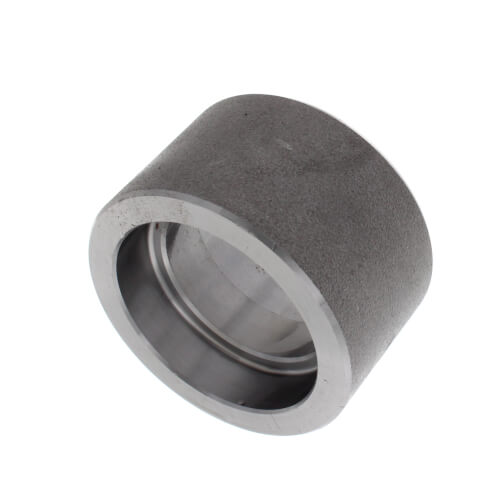 "1-1/2"" 3000# A105N Carbon Steel Socket Weld Coupling Product Image"