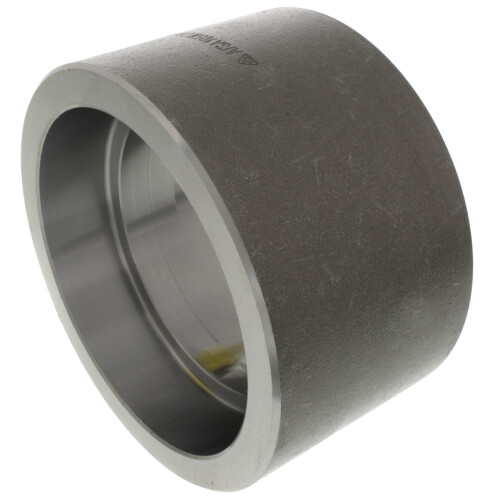 "3"" 3000# A105N Carbon Steel Socket Weld Coupling Product Image"