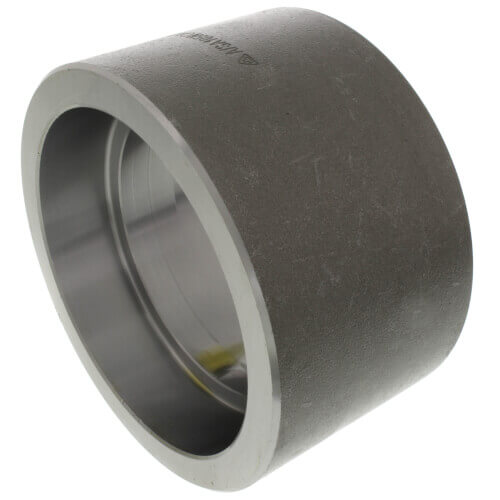 "4"" 3000# A105N Carbon Steel Socket Weld Coupling Product Image"