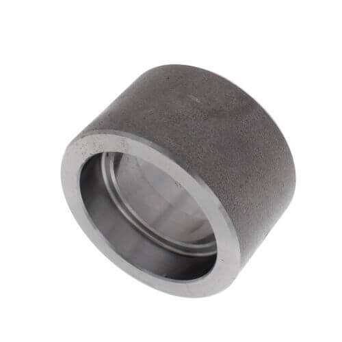"""1-1/2"""" x 1"""" 3000# A105N Carbon Steel Socket Weld Reducer Coupling Product Image"""
