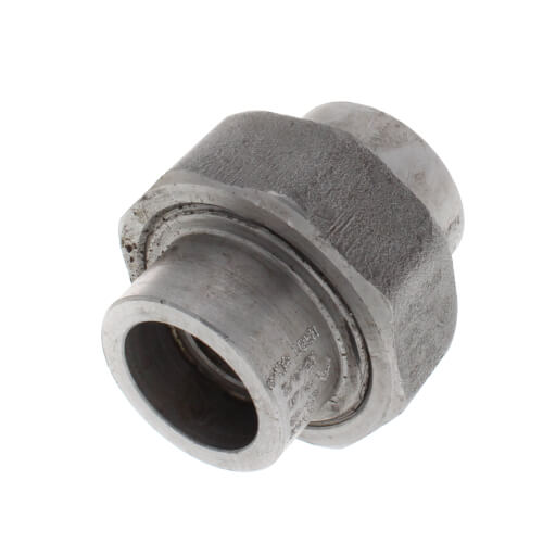 """3/4"""" 3000# A105N Carbon Steel Socket Weld Union Product Image"""