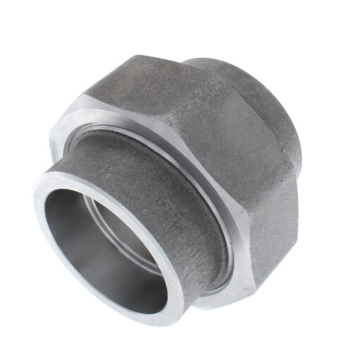 """2"""" 3000# A105N Carbon Steel Socket Weld Union Product Image"""