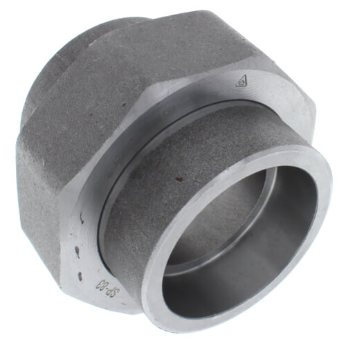 """2-1/2"""" 3000# A105N Carbon Steel Socket Weld Union Product Image"""