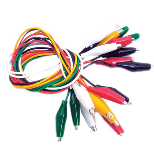 Multi-Colored Test Leads (Pack of 10) Product Image