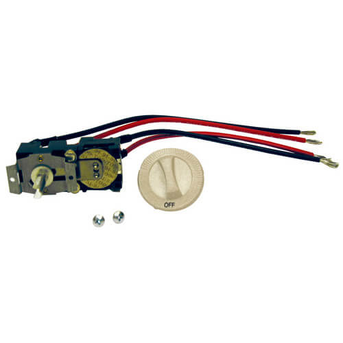 Double Pole Field Mount Thermostat for Com-Pak Plus Heaters (Almond) Product Image