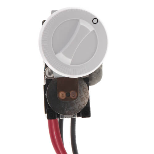 Double Pole Field Mount Thermostat for Com-Pak Plus Heaters (White) Product Image