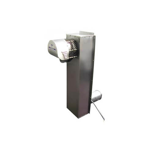 "5"" Stainless Steel Vent Riser w/ Power Venter (290,000 BTU) Product Image"