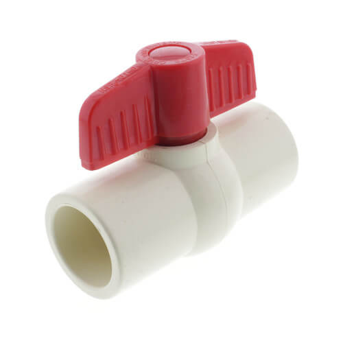 """1"""" CPVC Ball Valve (Solvent) Product Image"""