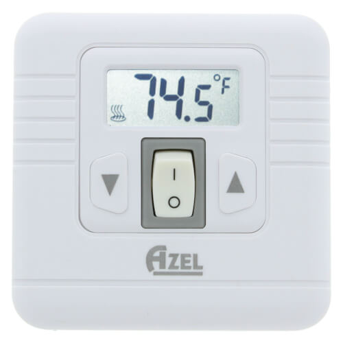 Digital Non-Programmable Heat Only Thermostat with On/Off Switch (24 VAC) Product Image