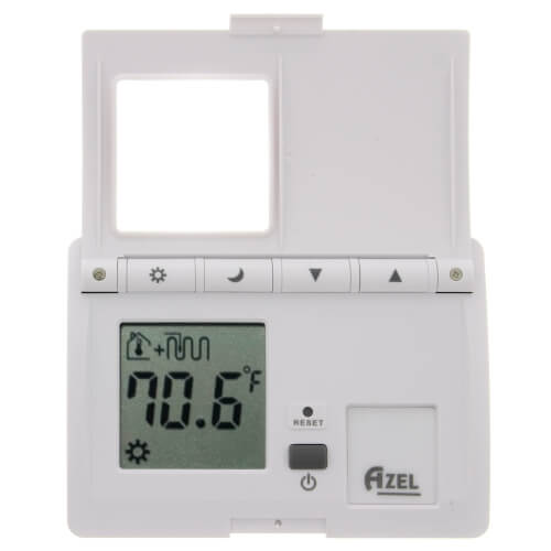 Digital Non-Programmable Heat Only Battery Powered Radiant Floor Thermostat Product Image
