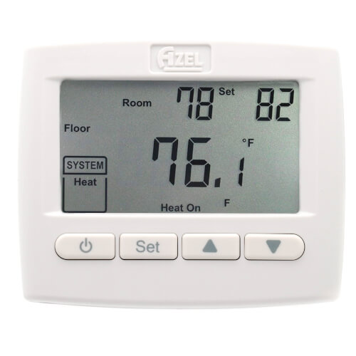 Digital Non-Programmable Heat Only Thermostat for Radiant Floor Heating Product Image