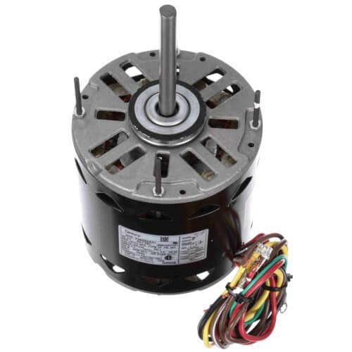 "5-5/8"" 2-Speed Standard Efficiency Indoor Blower Motor (208-230V, 1075 RPM, 3/4 HP) Product Image"