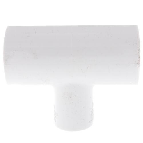 "1"" x 1"" x 1/2"" PVC Sch. 40 Reducing Tee (Deep Socket) Product Image"
