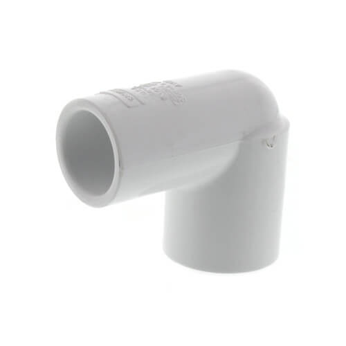 "3/4"" x 1/2"" PVC Sch. 40 90° Elbow (Deep Socket) Product Image"