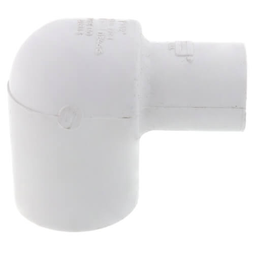 "1"" x 1/2"" PVC Sch. 40 90° Elbow (Deep Socket) Product Image"