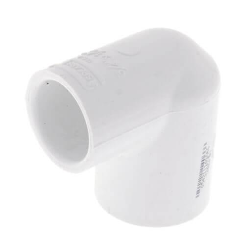 "1-1/4"" x 1/2"" PVC Sch. 40 90° Elbow (Deep Socket) Product Image"