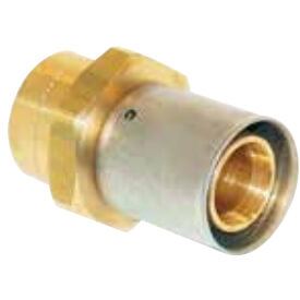 "3/4"" PEX-AL-PEX Press x 1"" Copper Fitting Adapter Product Image"