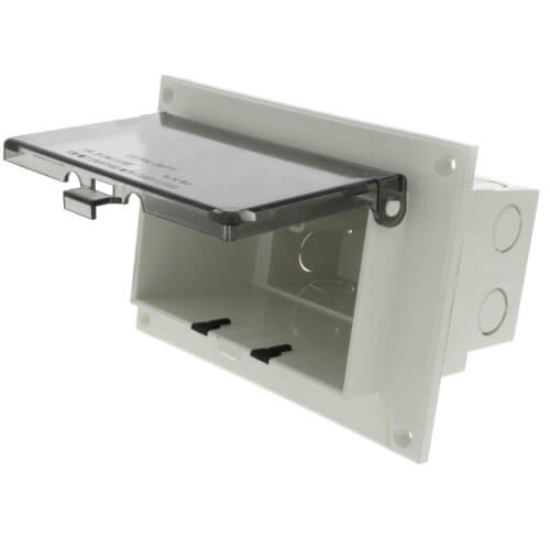 1-Gang Low Profile Inbox for Retrofit Flat Surfaces (Horizontal) Product Image