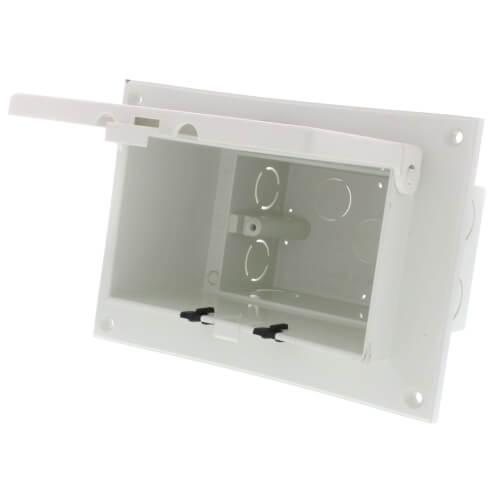White Weatherproof Low Profile InBox for Flat Surfaces (Retrofit) Product Image