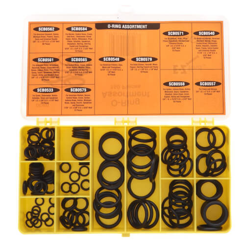 Small O-Ring Kit for Popular Faucet Brands (150 Pieces) Product Image