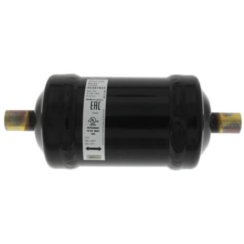 "3/8"" ODF Sweat DCB Bi-Flow Liquid Line Filter-Drier, DCB083S (8 Cubic Inches) Product Image"