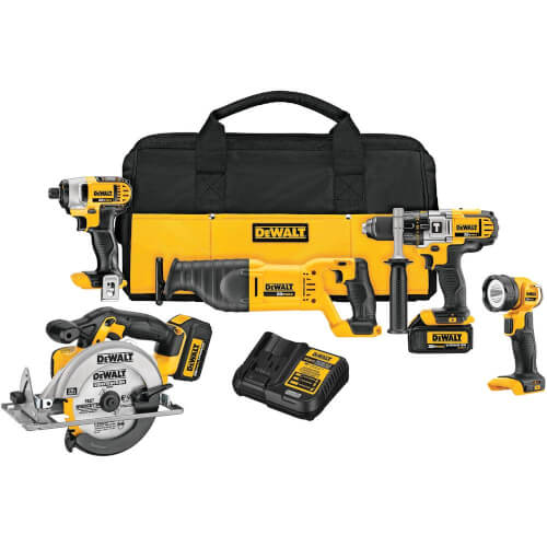 20V MAX Lithium Ion 5-Tool Combo Kit Product Image