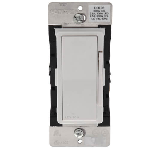Decora Digital Universal Dimmer, LED, CFL & Incandescent Dimmer, 1P, 3-Way (120V) Product Image