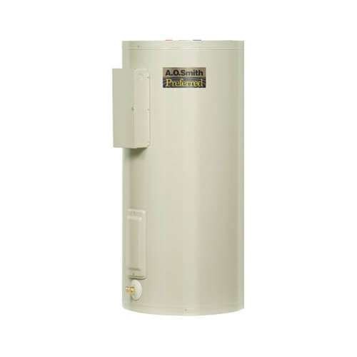 50 Gal. Dura-Power DEN Upright Electric Heater (12 kW 480V) Product Image
