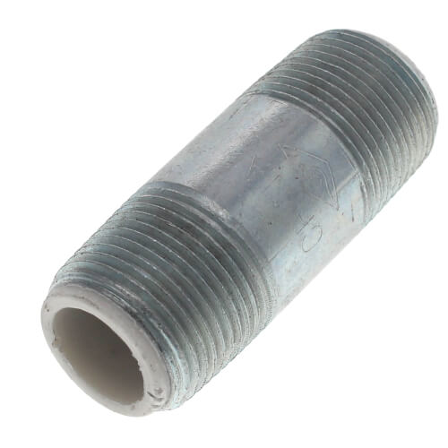 "3/4"" x 2-1/2"" Galvanized Steel Dielectric Nipple w/ Pex Insulator Product Image"